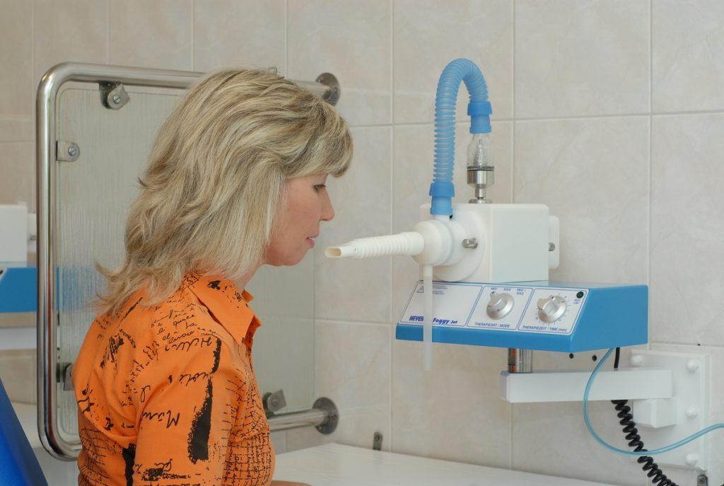 inhalácia v kúpeľoch