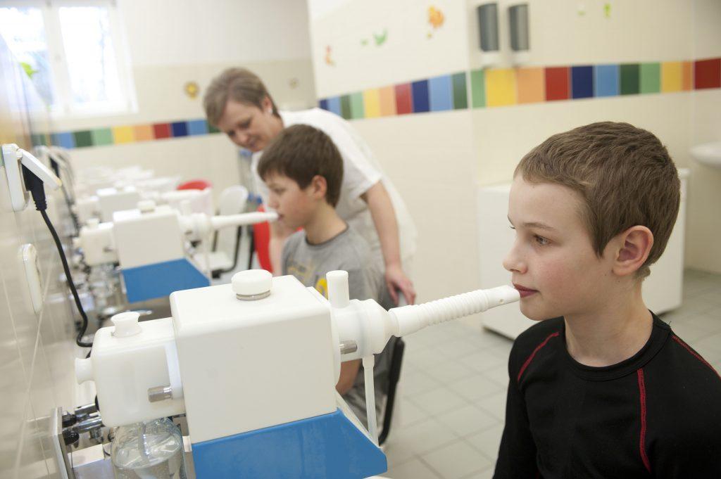inhalovanie pre deti