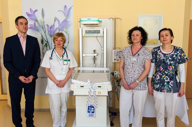 Novorodenecké oddelenie v Dunajskej Strede