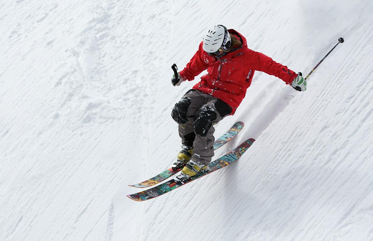 úraz na lyžovačke